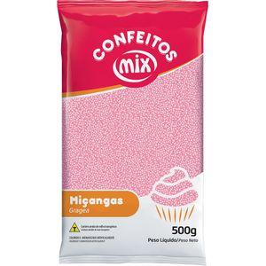 CONFEITO MIÇANGA ROSA BEBÊ 500G MIX