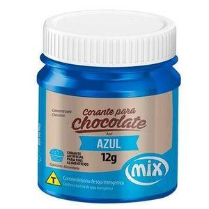 CORANTE PARA CHOCOLATE EM GEL AZUL 12G MIX