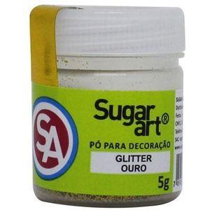GLITTER PARA DECORAÇÃO OURO 5G SUGAR ART