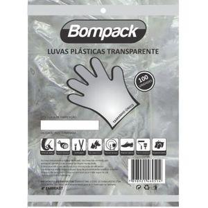 LUVA DESCARTÁVEL BOMPACK C/100 UN