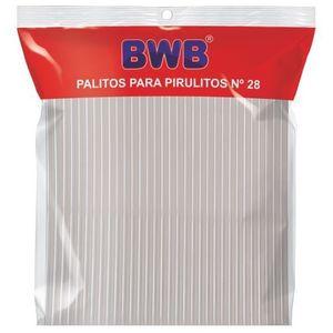 PALITOS PARA PIRULITO GRANDE - CRISTAL  PCT C/ 50 UND (283)
