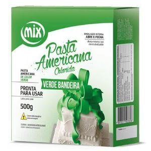 PASTA AMERICANA COLORIDA VERDE BANDEIRA 800G MIX