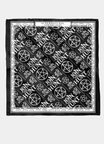 Bandana Unissex Supernatural Join The Hunter Patterns