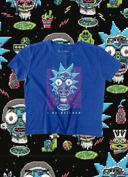 Camiseta Box Rick And Morty Science