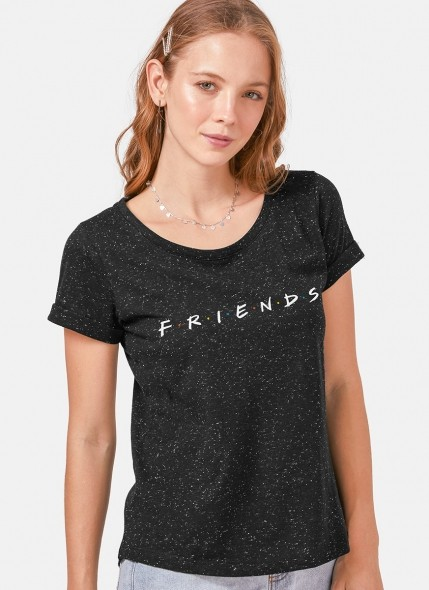 Camiseta Friends Logo Botonê