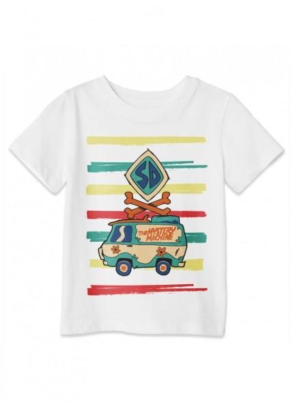 Camiseta Infantil Scooby! Máquina de Mistério Colors