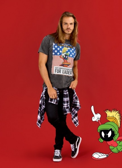 Camiseta Looney Tunes Marvin For Leader
