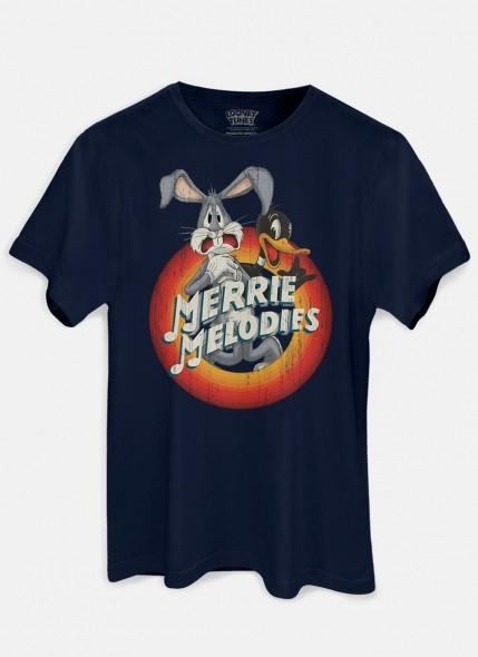 Camiseta Looney Tunes Pernalonga Merrie Melodies