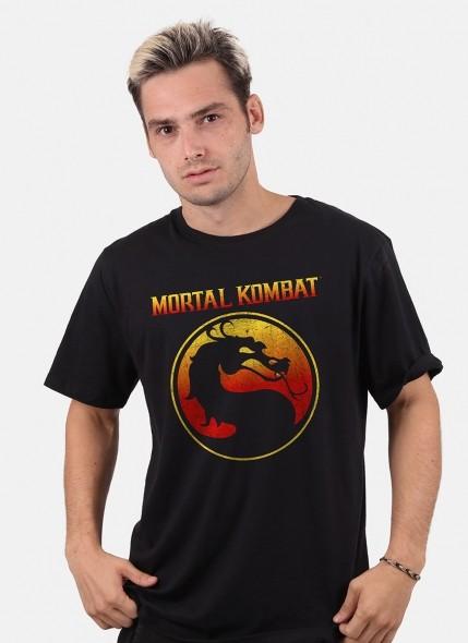 Camiseta Mortal Kombat Logo Clássico