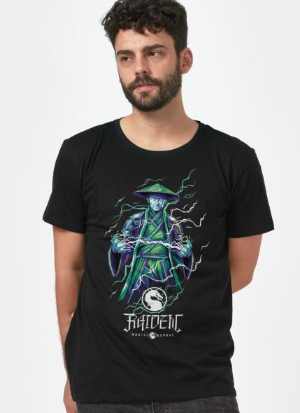 Camiseta Mortal Kombat Raiden