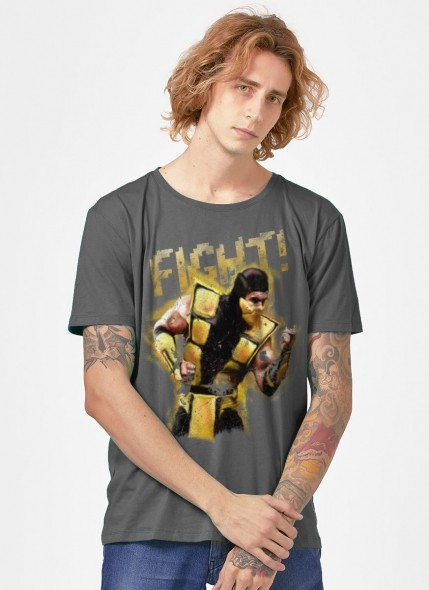Camiseta Mortal Kombat Scorpion