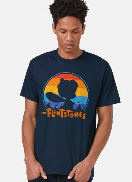 Camiseta Os Flintstones Bambam Pôr do Sol