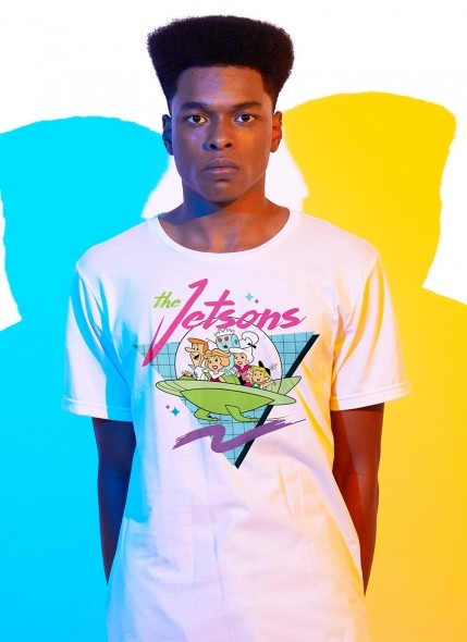 Camiseta Os Jetsons Nave Pop