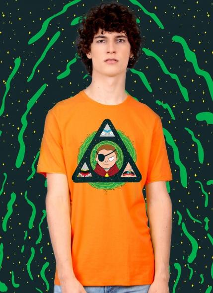 Camiseta Rick And Morty Do Mal