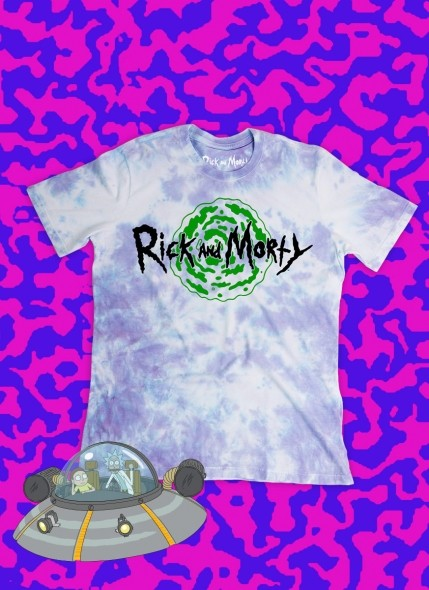 Camiseta Rick And Morty Logo Portal