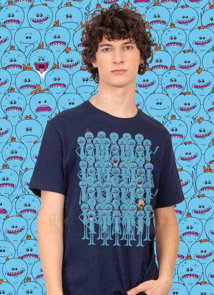 Camiseta Rick and Morty Meeseeks