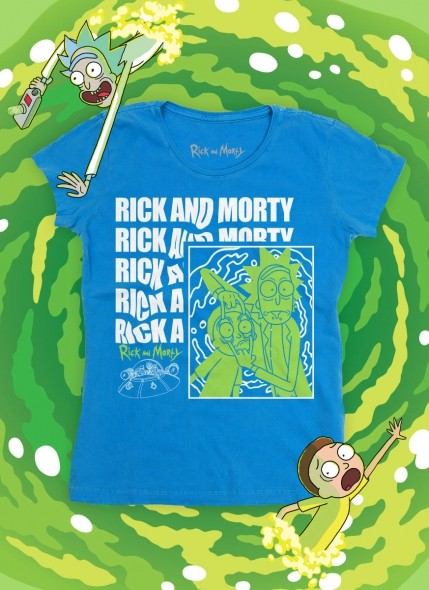 Camiseta Rick And Morty Pose