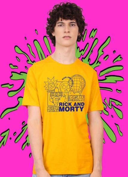 Camiseta Rick And Morty The World