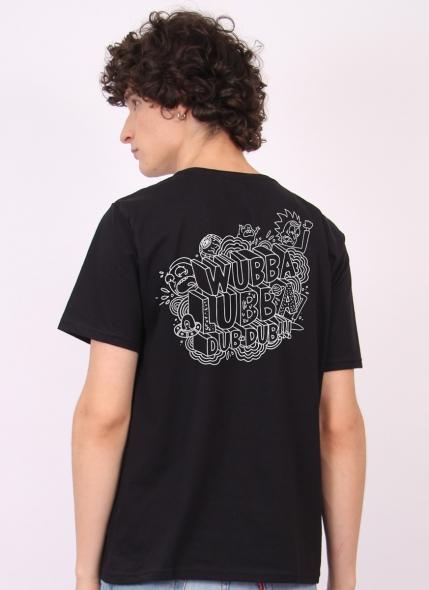 Camiseta Rick And Morty Wubba Lubba Dub Dub