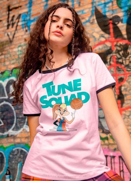 Camiseta Ringer Space Jam Tune Squad Lola
