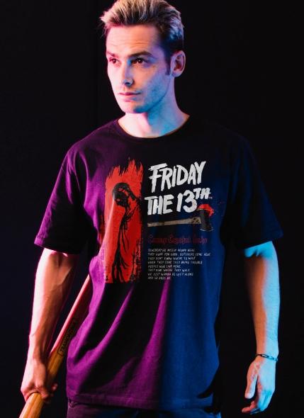 Camiseta Sexta-Feira 13 Crystal Lake