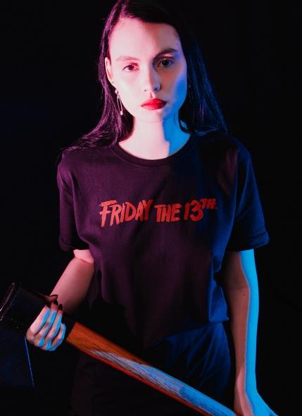 Camiseta Sexta-Feira 13 Logo