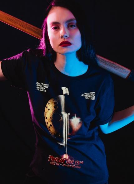 Camiseta Sexta-Feira 13 O Novo Sangue