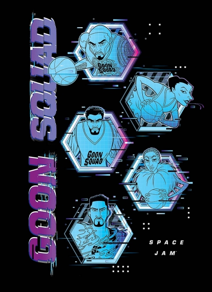 Camiseta Space Jam Goon Squad