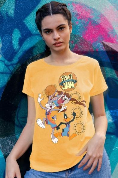 Camiseta Space Jam Tune Basket