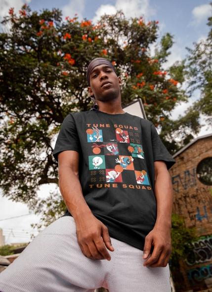 Camiseta Space Jam Tune Squad Quadrinhos