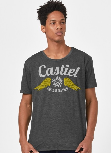 Camiseta Supernatural Castiel O Anjo