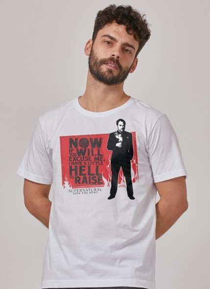 Camiseta Supernatural Now If You Will