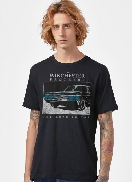Camiseta Supernatural The Road So Far