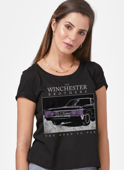 Camiseta Supernatural The Road So Far