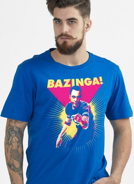 Camiseta The Big Bang Theory Bazinga!