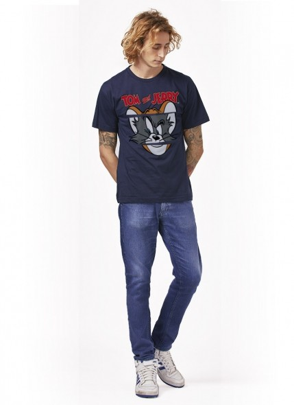 Camiseta Tom e Jerry Faces