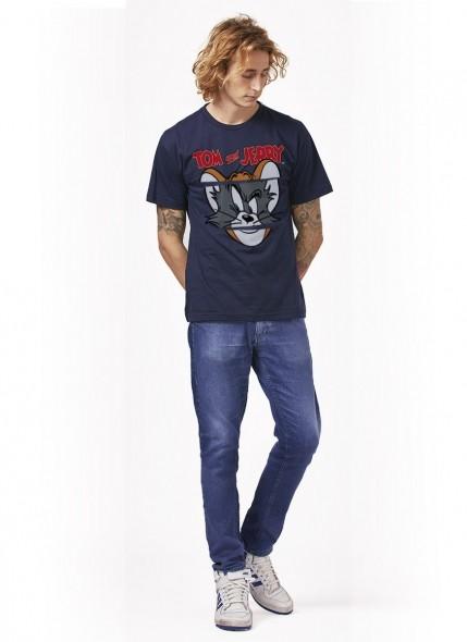 Camiseta Tom e Jerry Faces