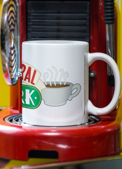 Caneca Friends Central Perk White