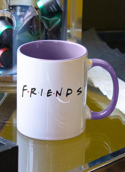Caneca Friends Moldura Nomes