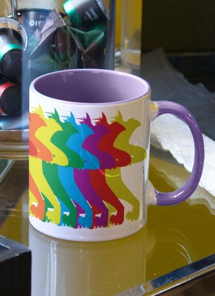 Caneca Looney Tunes Frajola Colors Pride