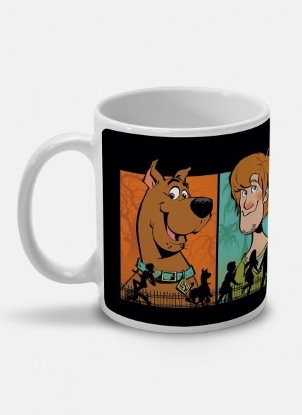 Caneca Scooby! Heróis