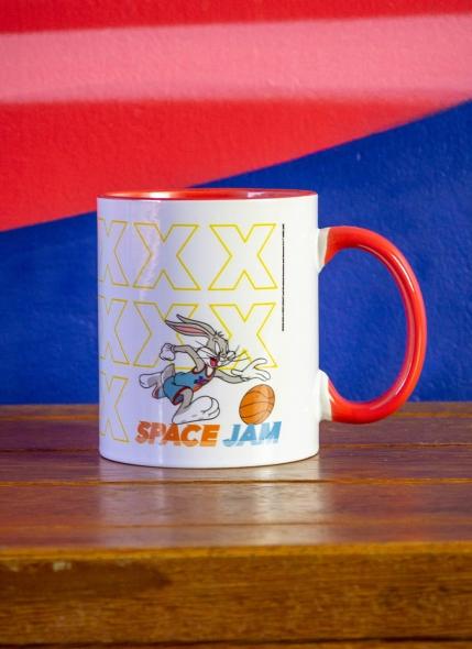 Caneca Space Jam Pernalonga Squad