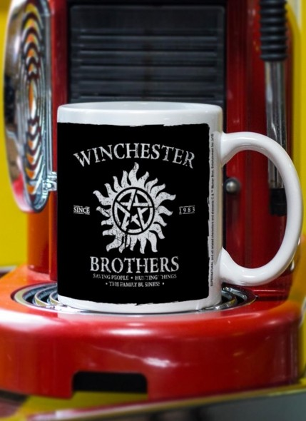 Caneca Supernatural Winchester Brothers