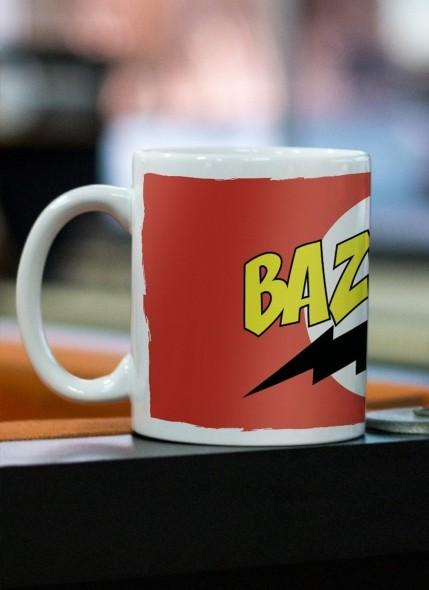 Caneca The Big Bang Theory Bazinga Clássica