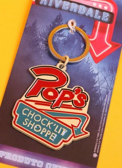 Chaveiro de Metal Riverdale Pop's Chock'lit Shoppe