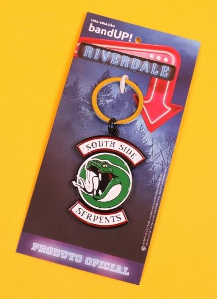 Chaveiro de Metal Riverdale Serpentes do Sul
