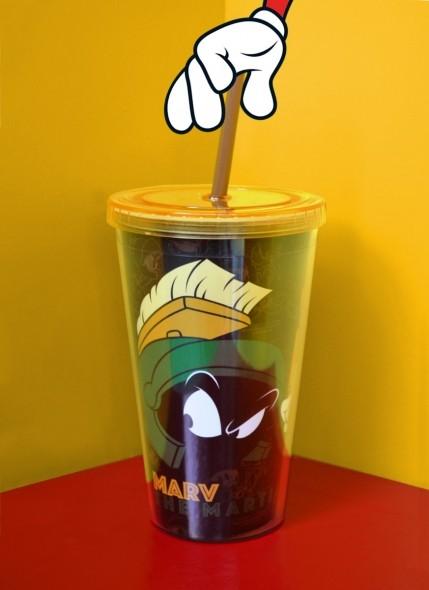Copo Looney Tunes Marvin, O Marciano