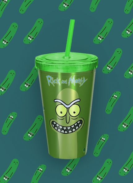 Copo Rick And Morty Pickle Rick