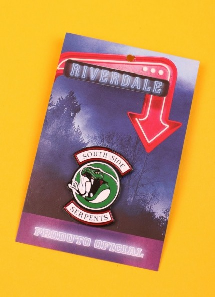 Pin de Metal Riverdale Serpentes do Sul