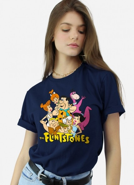 T-shirt Os Flintstones Personagens